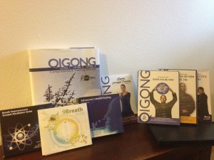 The Supreme Science Collection of DVD/CDs for QiGong and Breathwork:photo by and at Abintra