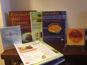The Supreme Science Collection of DVD/CDs for Food Healing:photo by and at Abintra